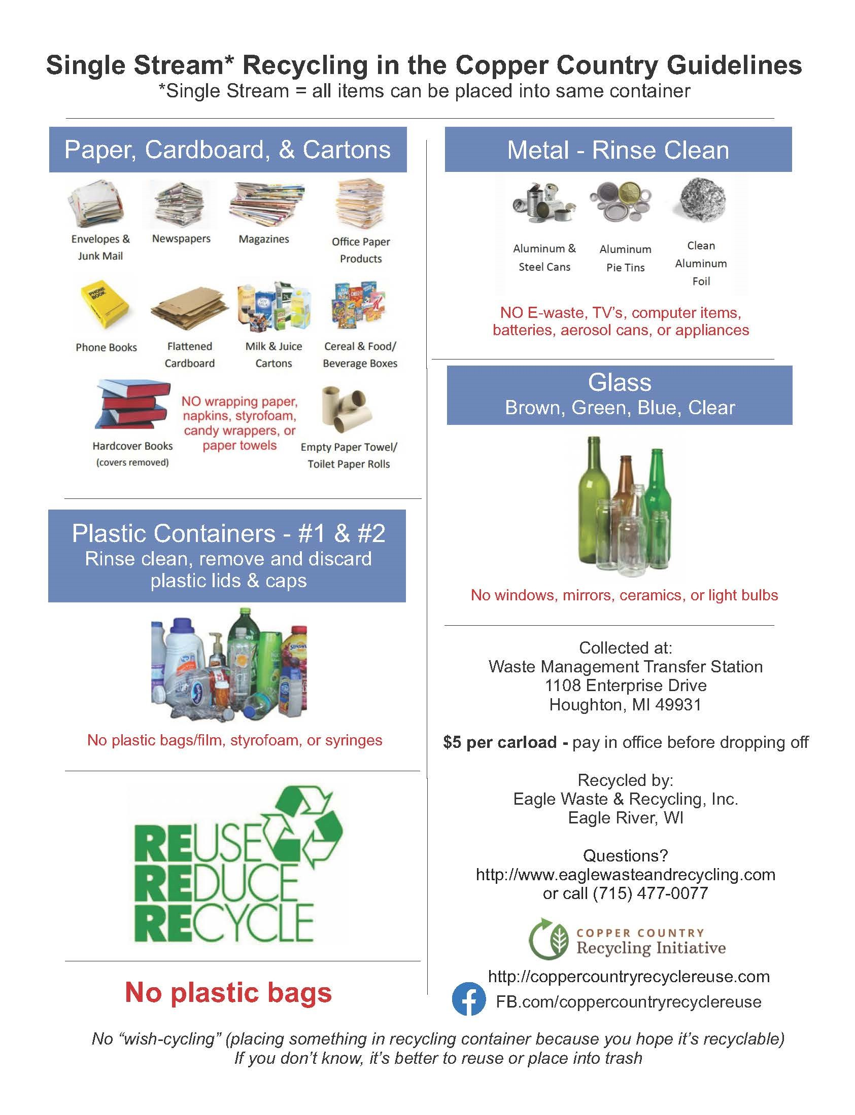 Recycling Flyer.